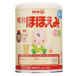 Sữa Meiji Hohoemi 0-1