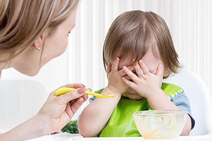 Trẻ chậm tăng cân