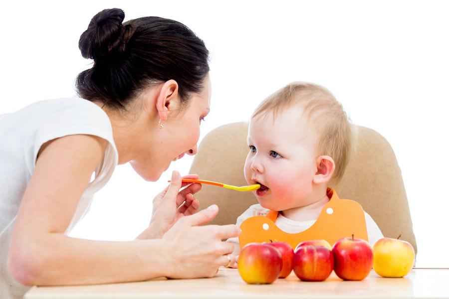 Cách khắc phục trẻ chậm tăng cân